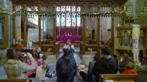 Polesworth Abbey Trip Dec 2014