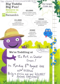 Big Toddle Poster